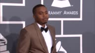 Nas at The 55th Annual GRAMMY Awards Arrivals in Los Angeles CA on 2/10/13
