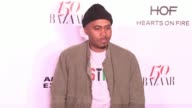 Nas at the Harper's BAZAAR Celebrates 150 Most Fashionable Women at Sunset Tower on January 27 2017 in West Hollywood California
