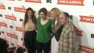 Nasim Pedrad Abby Elliott Vanessa Bayer and Todd Barry at PORTLANDIA Screening Hosted by IFC Red Carpet New York NY United States 1/5/2012