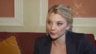 Natalie Dormer on meeting a Latvian stewardess and how interesting it was to meet her and its relation to the film at the City of Life Interviews...