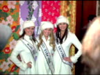Natalie Glebova Miss Universe 2005 Chelsea Cooley Miss USA 2005 and Allie LaForce Miss Teen USA 2005 at the NYRP Celebration of 10th Anniversary and...