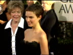 Natalie Portman at the 2006 Golden Globe Awards Arrivals at the Beverly Hilton in Beverly Hills California on January 16 2006