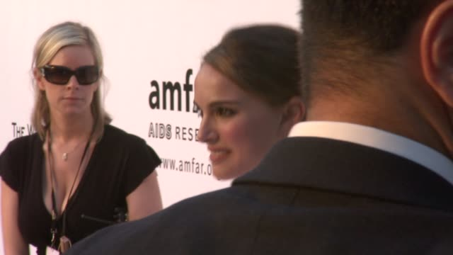 Natalie Portman at the Cannes amfAR's Cinema Against AIDS 2008 arrivals in Cannes on May 22 2008