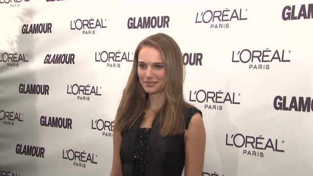 Natalie Portman at the Glamour Magazine Honors the 2008 Women of the Year at New York NY
