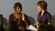 Natasha Kaplinsky Alexandra Burke on her experiences with Save The Children at the No Child Born to Die Launch at London England