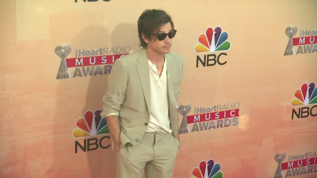 Nate Ruess at the 2015 iHeartRadio Music Awards Red Carpet Arrivals at The Shrine Auditorium on March 29 2015 in Los Angeles California