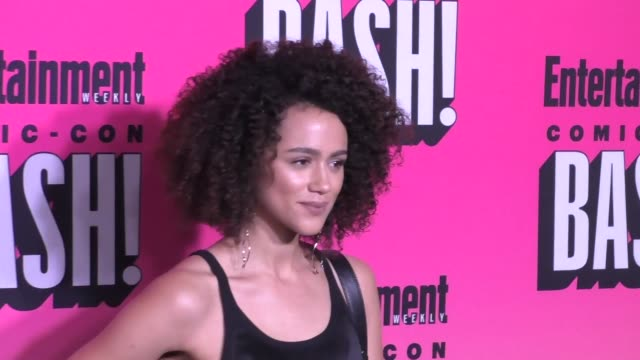 Nathalie Emmanuel at the Entertainment Weekly San Diego Comic Con Party