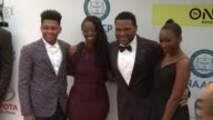 Nathan Anderson Alvina Stewart Anthony Anderson and Kyra Anderson at 48th NAACP Image Awards at Pasadena Civic Auditorium on February 11 2017 in...