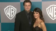 Nathan Fillion and Perrey Reeves at the 13th Annual Warner Bros And InStyle Golden Globe AfterParty in Beverly Hills CA on 1/15/12