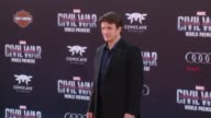 Nathan Fillion at Marvel's 'Captain America Civil War' World Premiere at Dolby Theatre on April 12 2016 in Hollywood California