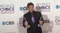 Nathan Fillion at People's Choice Awards 2013 Press Room on 1/9/2013 in Los Angeles CA