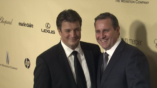 Nathan Fillion at The Weinstein Company's 2013 Golden Globe Awards After Party on 1/13/13 in Beverly Hills CA
