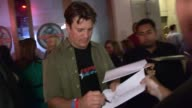 Nathan Fillion greets fans at Nerd HQ in San Diego 07/14/12
