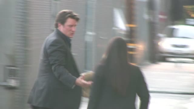Nathan Fillion in Hollywood