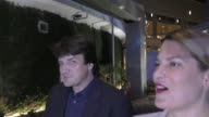INTERVIEW Nathan Fillion jokes about a 4th grade incident at the ArcLight Theatre in Hollywood in Celebrity Sightings in Los Angeles