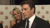 Nathan Fillion on being a presenter at tonight's show what category he presented if he had favorites in the category and this being the first time at...