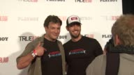 Nathan Fillion Zachary Levi at Playboy True Blood 2012 Event on 7/14/12 in San Diego CA