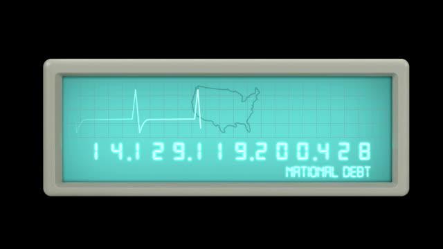 National Debt EKG Schalter