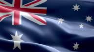 National flag australia wave Pattern loopable Elements