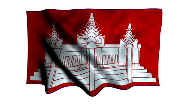 National flag Cambodia