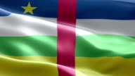 National flag central african republic wave Pattern loopable Elements