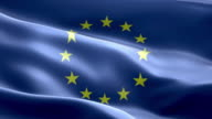 National flag European Union wave Pattern loopable Elements