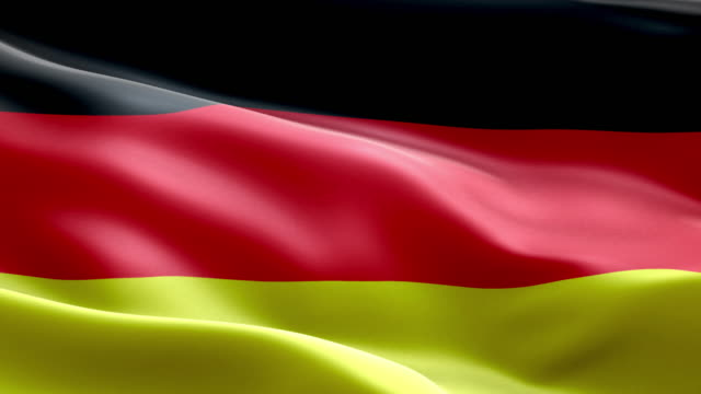 National flag Germany wave Pattern loopable Elements