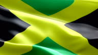 National flag Jamaica wave Pattern loopable Elements