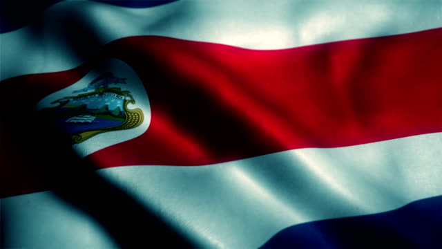 National Flag of Costa Rica