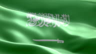 National flag Saudi Arabia wave Pattern loopable Elements