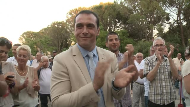 National Front party Mayor of Le Pontet Joris Hebrard was reelected Sunday in the first tour of local elections earning close to 60 percent of votes