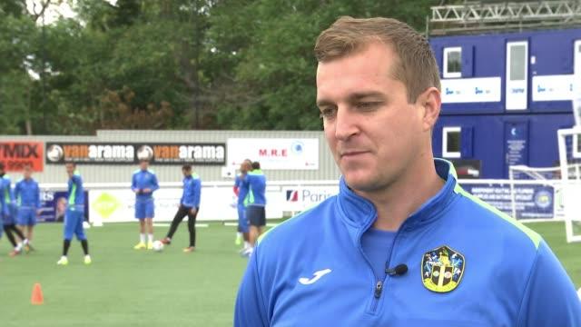 Sutton United reap financial rewards of FA Cup run Sutton Gander Green Lane Jamie Collins interview SOT