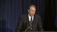 National Rifle Association Executive Vice President Wayne La Pierre press conference following the tragic school shootings at Sandy Hook Elementary...