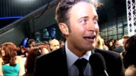 Celebrity red carpet arrivals and interviews Gary Lucy interview SOT On the night who is looking good just got here / On Dancing on Ice great show...