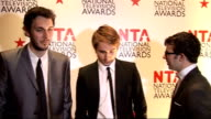 interviews Inbetweeners speaking to other crew SOT The Inbetweeners cast interview SOT On feelings surprised didn't expect it as Glee has mass...