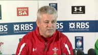 Wales press conference ahead of Ireland game Gatland press conference continues SOT