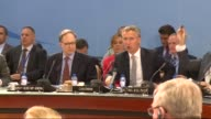 Nato ambassadors meeting on Turkey start at the Nato headquarters in Brussels Belgium on 28 July 2015 NATO ambassadors were set to discuss recent...
