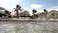 Natural beach scene