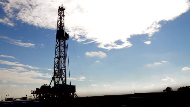 Natural Gas Fracking Tower HD