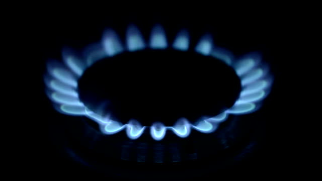 Natural Gas Inflammation In Stove Burner