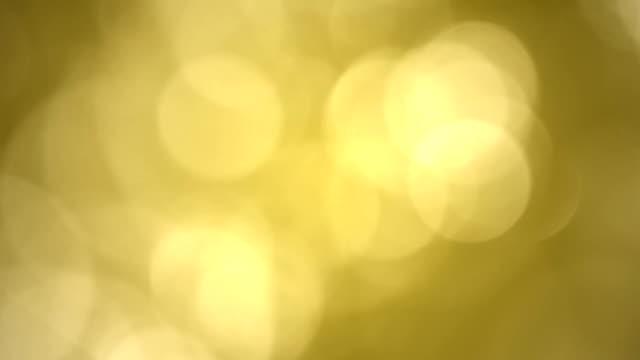 Natural Gold Bokeh Looped