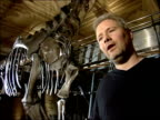 Natural History Museum fossil identified as new type of dinosaur Mike Taylor interview SOT