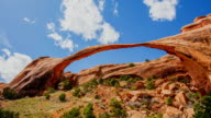 T/L 8K Natural sandstone arch at the Arches National Park
