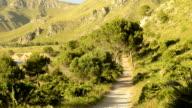 HD: Natural way in Mallorca, Balearic Islands, Spain