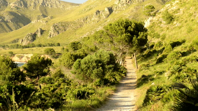 HD: Natural way in Mallorca, Balearic Islands, Spain