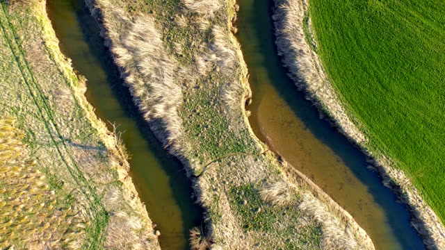 Nature River course aerial view