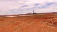 AERIAL Navajo power station in Arizona