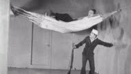 Navy Blues silent short / Naval recruit cuts up the hammocks / Naval recruit breaks the bunks and makes everyone angry / Bunk Problems on September...