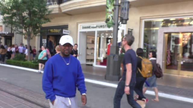 Neal McNight on NFL players taking a knee while shopping at The Grove in Los Angeles at Celebrity Sightings in Los Angeles on September 23 2017 in...