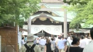 Nearly 170 Japanese lawmakers visit a Tokyo war shrine an MP says in one of the biggest ever trips by legislators to a site seen as a potent symbol...
